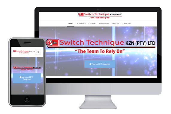 Switch-Technique Website Designed By Immortalart
