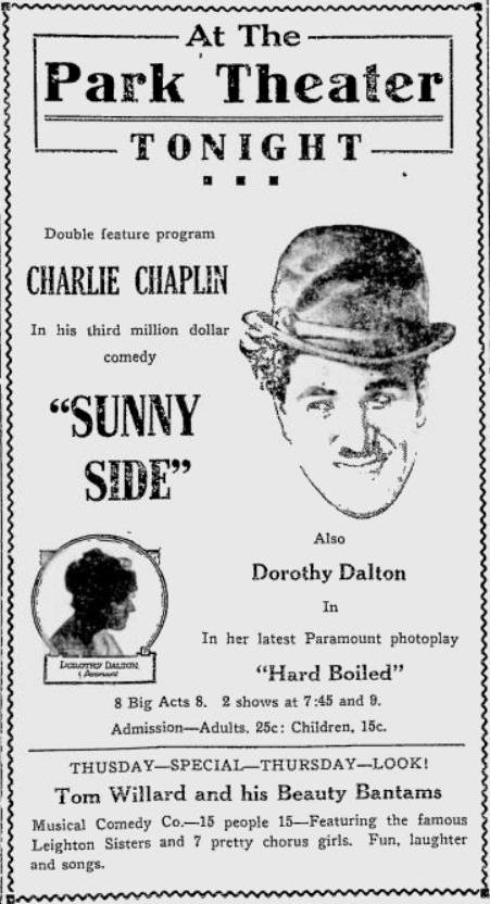 Charlie Chaplin TCM Summer Under the Stars 2014 Picto-Sked