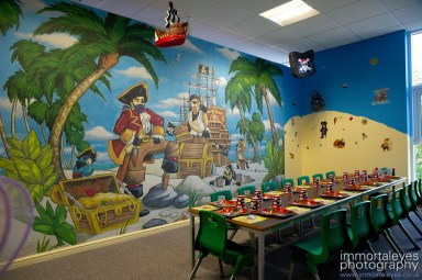 The pirates themed room.