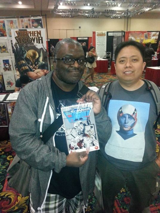 Las Vegas Comic Expo 2013 Immortal Samurai Comics Conquest 4