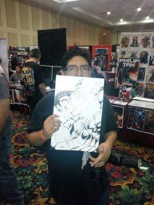 Las Vegas Comic Expo 2013 Immortal Samurai Comics Hulk Wolverine