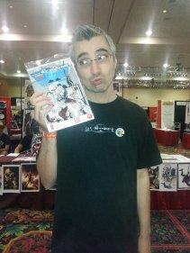 Las Vegas Expo 2013 Don Wagner Conquest 4 Immortal Samurai Comics