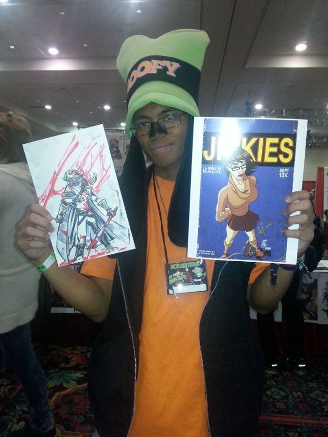 Las Vegas Expo Jinkies Hit Girl Immortal Samurai Comics