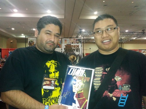 Las Vegas Expo Vince Pizarro Immortal Samurai Comics Chain Reaction