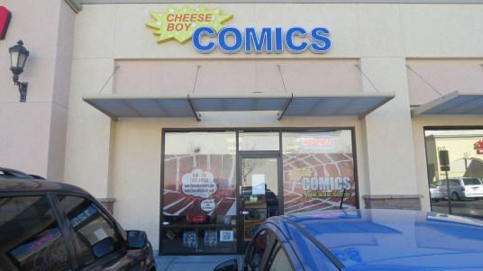Cheesy Boy Comics