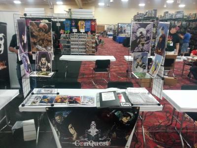 James Stone Amazing Las Vegas Comic Con Immortal Samurai Comics