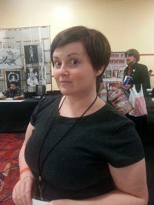 Ashley Poppelwell the Amazing Las Vegas Comic Con 2014