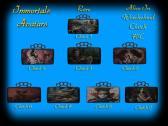 Immortals Alice In Wonderland Clutches