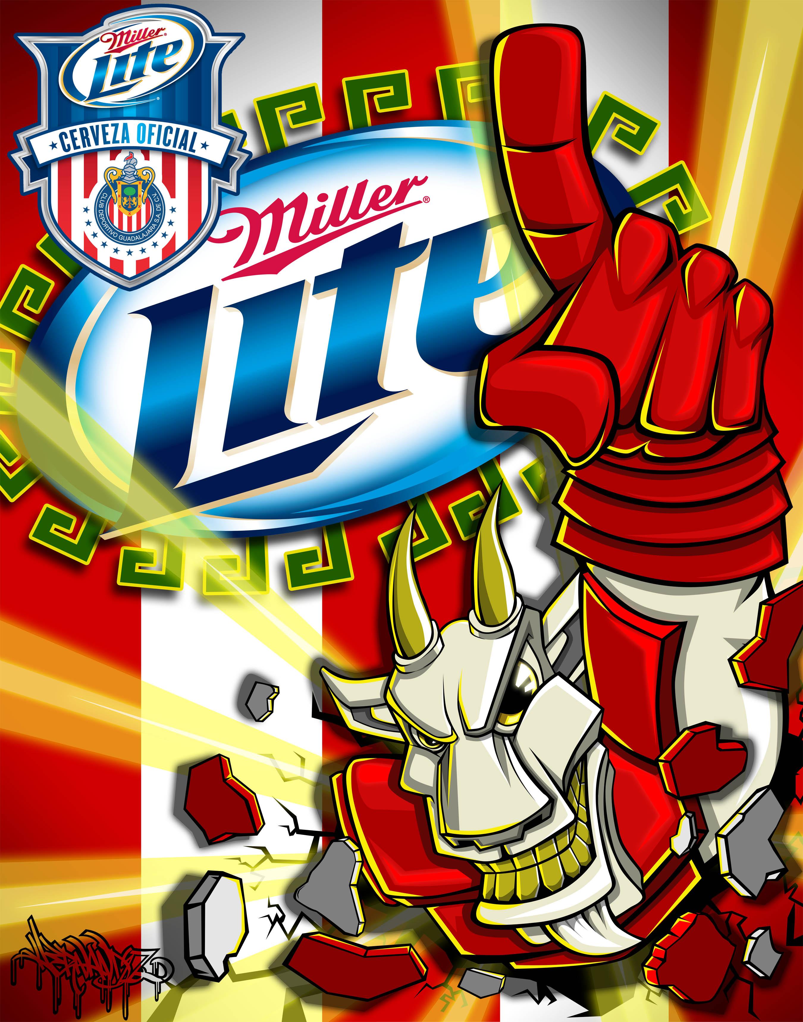 S Animation Wallpaper Vote Hernandez In The Miller Lite X Chivas Expresa Tu