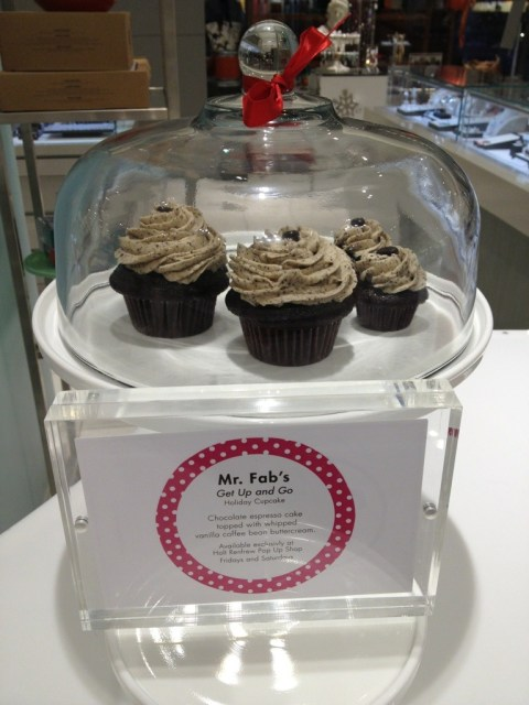 Mr. Fab Holt Renfrew Pop Up Cupcake Shop Crave