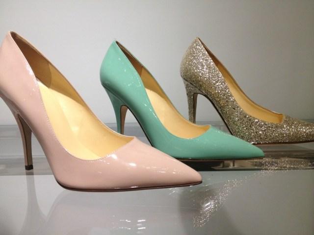 Kate Spade Pastel Heels