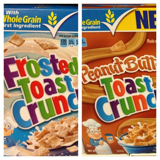 PB Toast Crunch NEW
