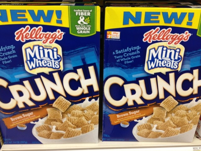 New Mini Wheats Crunch