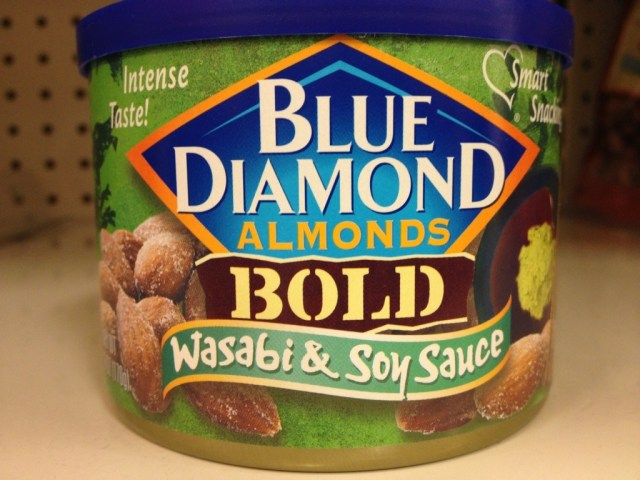 Wasabi and Soy Sauce Almonds