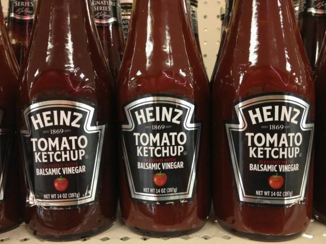 Balsamic Heinz Ketchup