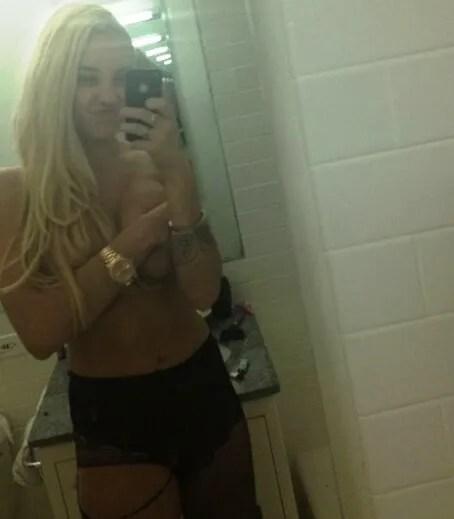 Amanda Bynes naked selfie