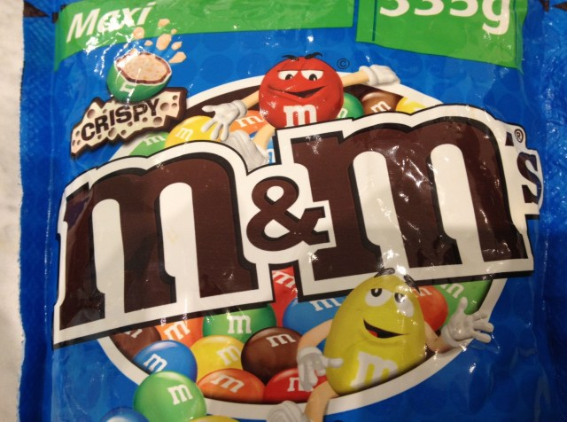 M&M Crispy discontinued