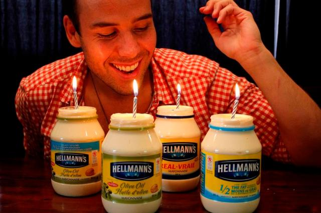 Hellmanns Mayo Birthday Mr FAB (3)