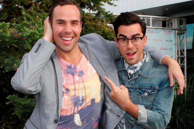 Dan Levy with Mr.Fab