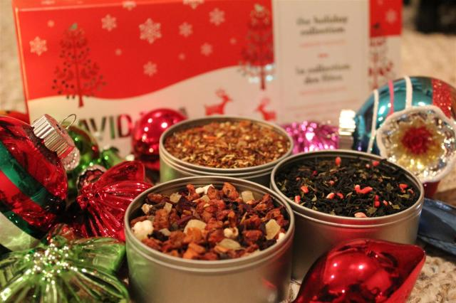 DAVIDs TEA Holiday Collection 2013 first look