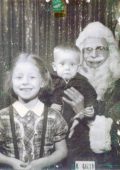Bad Mean Santa Mall pics