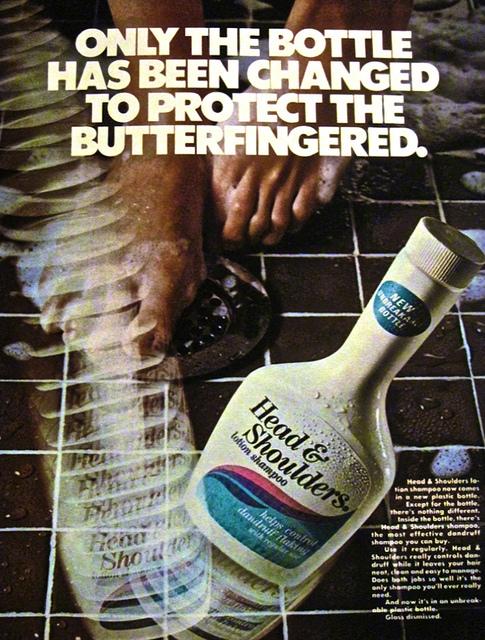 Head and Shoulders Vintage AD