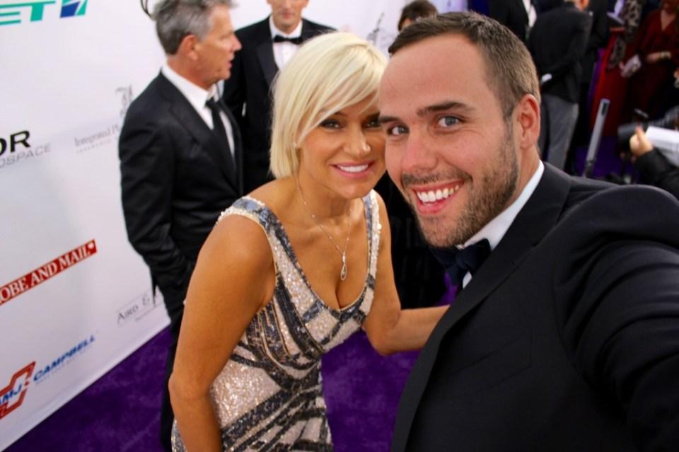 Yolanda Forster and Ryan Mr. Fabulous 1