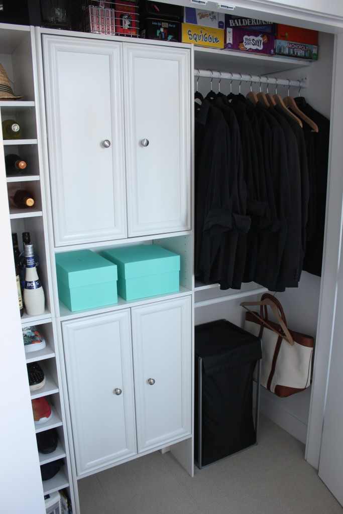 HomeDepot Closetmaid Selective DIY makeover Closet (2)