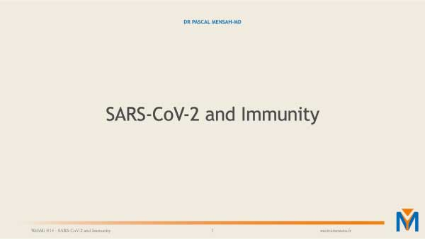 SARSCOV2 et immunité