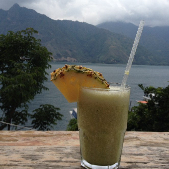 Tasty smoothies and waterfront views