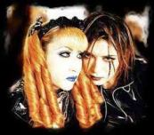 Mana and Gackt from Malice Mizer