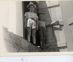 My Brother Bob and I during our 1970 family vacation in Spain. I'm the little guy on the right.