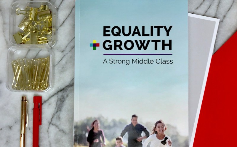 Equality + Growth, A Strong Middle Class