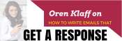 oren klaff on how to write emails that get a response logo