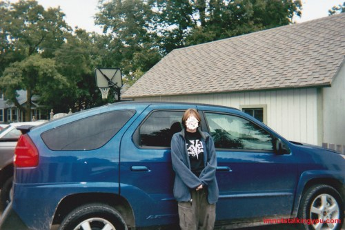 small resolution of the aztek when it was brand new and a lil dirty 2004 pontiac aztek