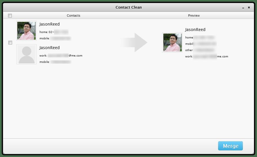 PhoneClean Online-Anleitung & Wie löscht man doppelte Kontakte