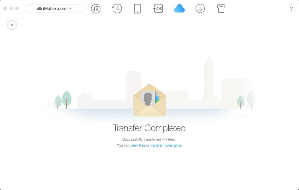 AnyTrans Online Guide– iCloud Contacts Management