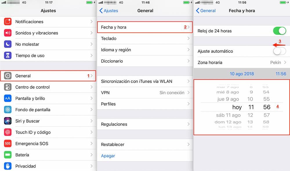 Problemas de iOS 12