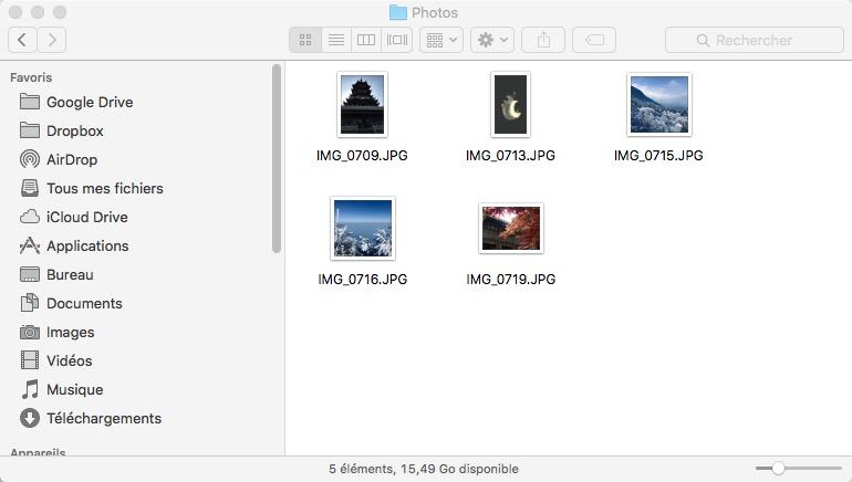 Récupérer les photos iPhone depuis sauvegarde iTunes