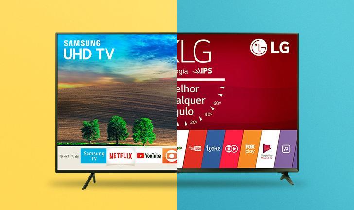 TV Samsung ou LG? Entenda as diferenças entre elas