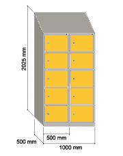 Taquilla de vestuario serie SI   Muebles de oficina Granada   IMOC.es