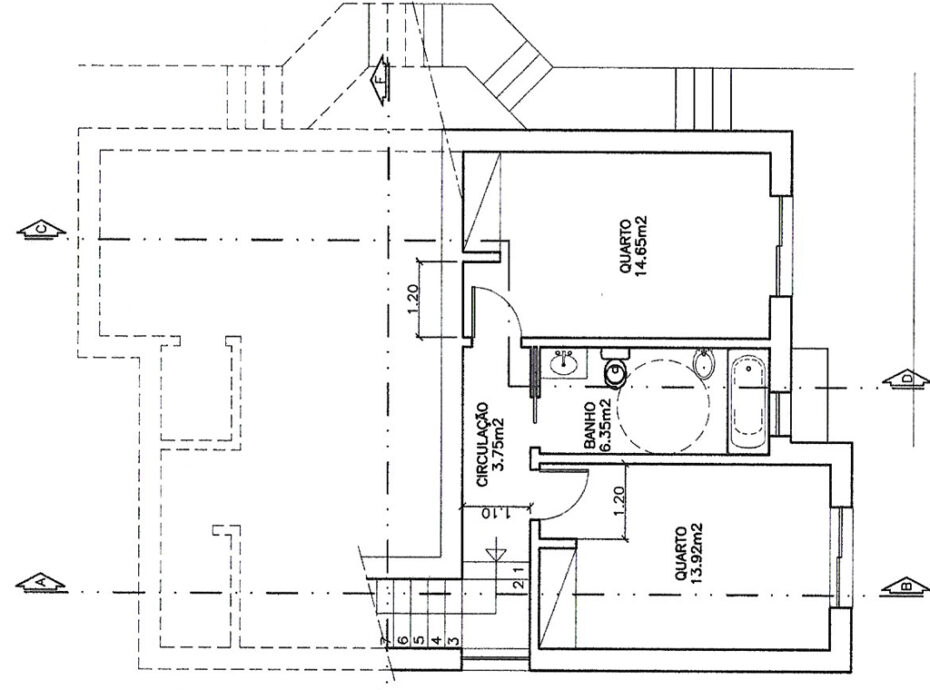 Monchique property with approved building plan for sale