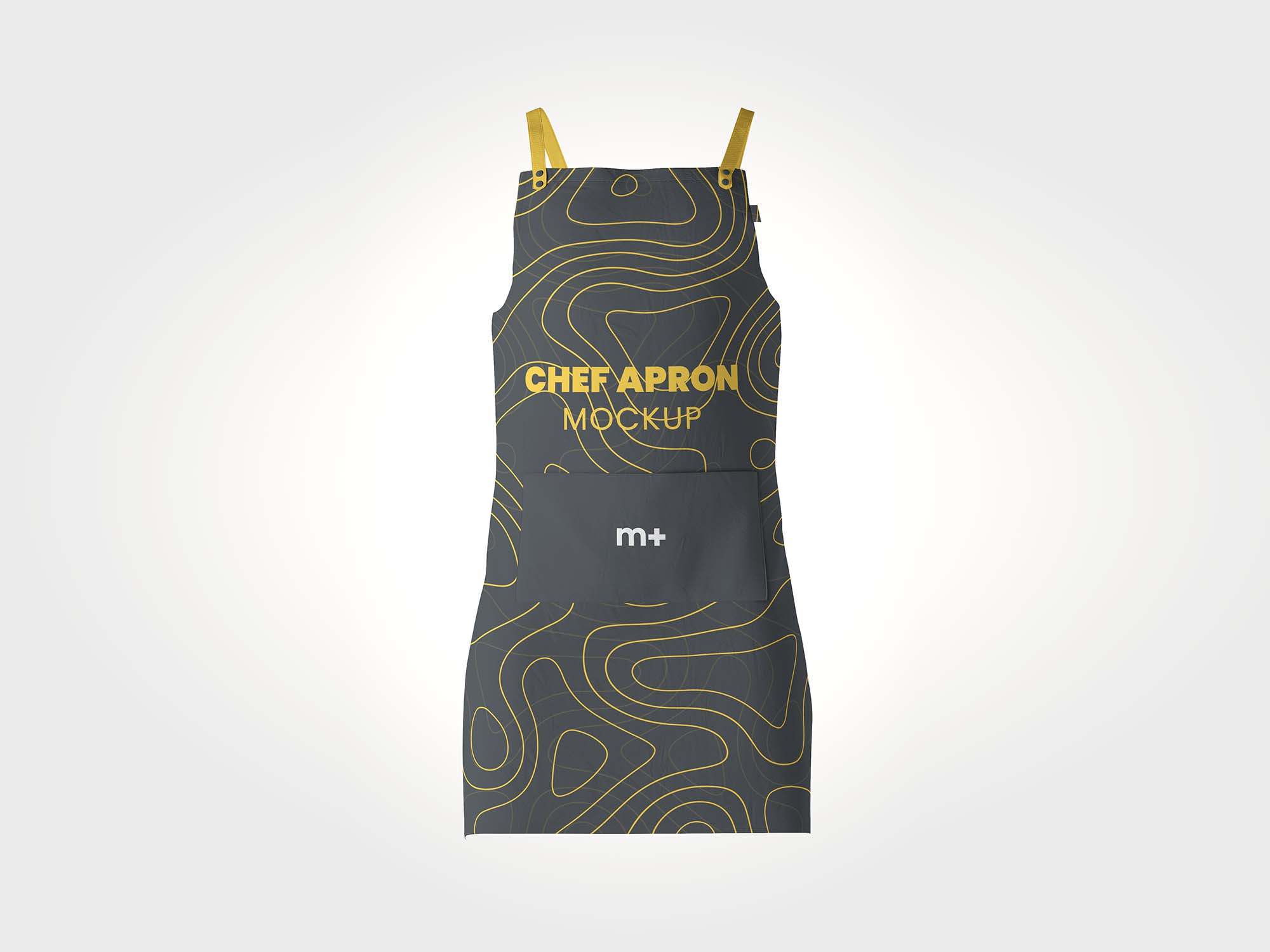 If you are running a food restaurant or a professional chef and wants to present your brand in the unique way than this apron mockup is for you. Stylish Chef Kitchen Apron Psd Mockup Free By Mockup Plus