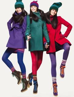 Colores en abrigos