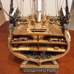 Uss Constitution Rigging Diagram 2001 Dodge Dakota Speaker Wiring From The Dark Side Wood 1 93rd Scale Mamoli Cross Section