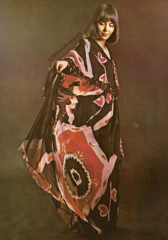 Modern Batik Thea Porter Dress by Hannah Meckler