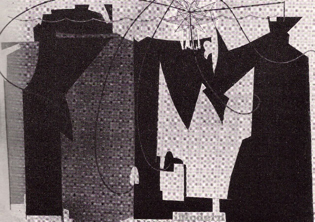 Man Ray Abstract art painting