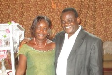 Pastor Sika and his wife Lucie