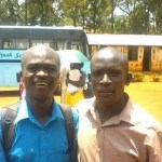 Mike and Anderson at Shekinah school