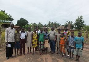 June new orphans and staff